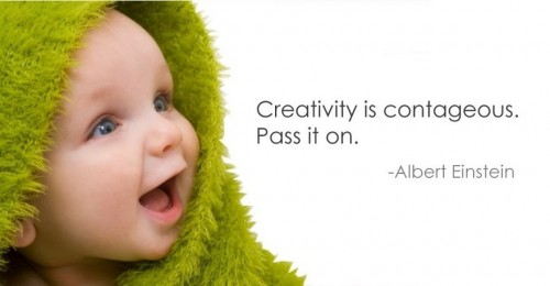 Creativity is contagious Baby