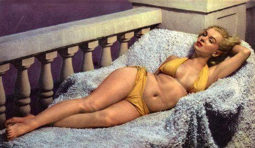 Marilyn Monroe....the worlds biggest icon! Her tummy isn't tightly toned, her thighs touch, her arms aren't skinny, she has stretch marks and her boobs aren't perky. She is known as one of the MOST BEAUTIFUL women in history. Be confident girls. You are HOT, you are SEXY, you are a Marilyn so do not let any man, media or moment of judgement ever take away your confidence! ♥ EL