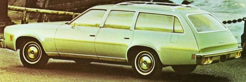 Green 1973 Wagon