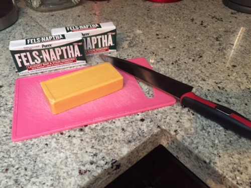 Use an old cutting board